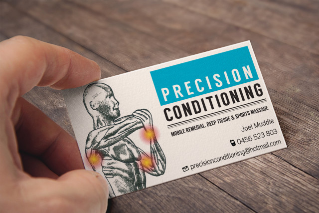 Business Card Design Fitness